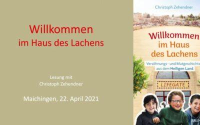 Lesung von Christoph Zehendner